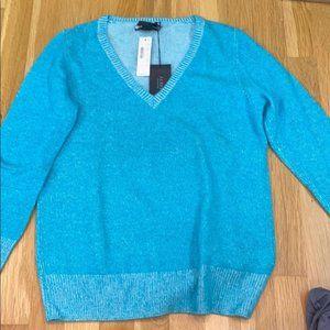 J.Crew 100% Aqua Cashmere Sweater NWT Size Small